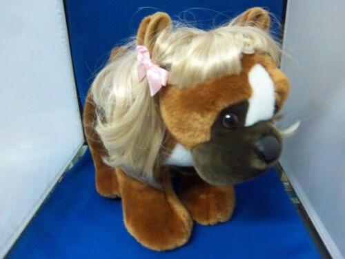 Build a Bear Boxer with Blonde Wig (still has tags)