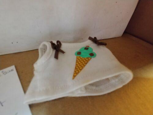 Build a Bear Buddies Small frys Mini Mint Chocolate Chip Shirt