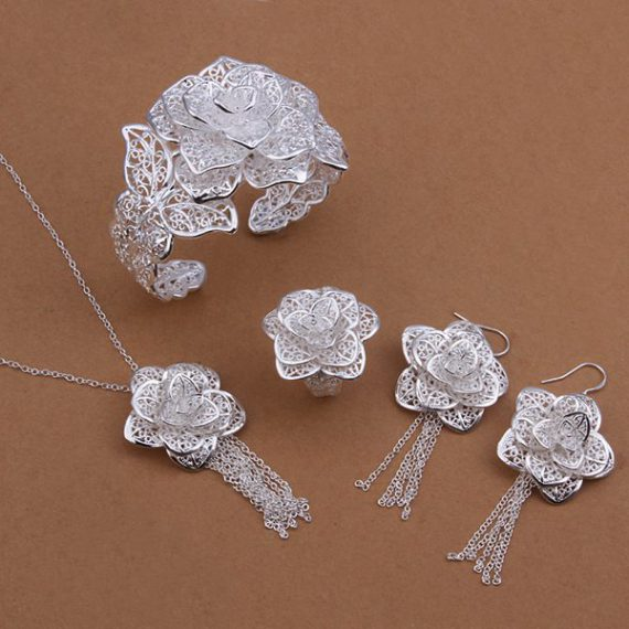 elegant-four-piece-silver-plated-set