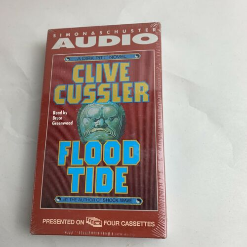 flood-tide-by-clive-cussler-audio-cassettes-new-sealed