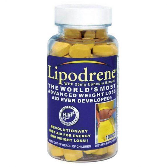 Hi-Tech Pharmaceuticals Lipodrene Ephedra 100 tablets FRESH Expires 11/2023