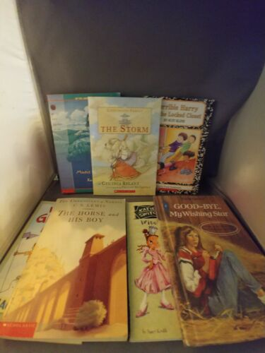 lot-of-scholastic-books-variety-of-stories