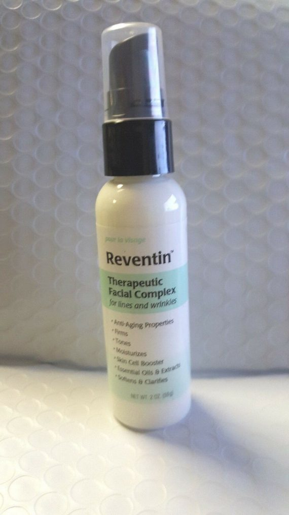 NEW Reventin Therapeutic Facial Complex For Lines & Wrinkles. 2oz. MADE IN USA