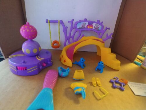 Polly Pocket Mermaid Stars Kerstie with Spinning Seals (no doll included)