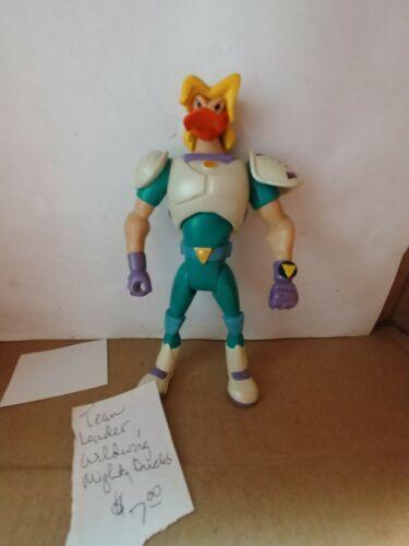 Team Leader Wildwing Vintage Mattel Mighty Ducks Action Figure 90s Cartoon