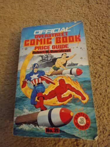 The Official Overstreet Comic Book Price Guide No 21 1991 Captain America