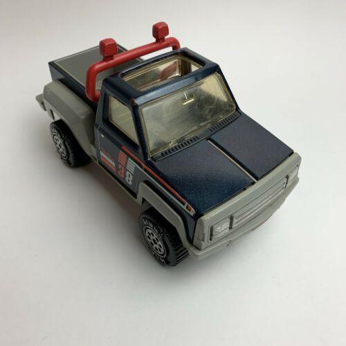 vintage-diecast-tonka-pickup-truck-s-blue-pressed-steel