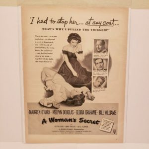 vintage-s-a-womans-secret-movie-ad-maureen-ohara-vintage-advertisement