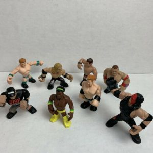 wwe-rumblers-lot-of-mini-wrestlers-mattel-action-figures-undertaker