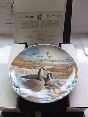 limited-editionplate-no-b-the-familydonald-pentzcanadian-wildlife-f