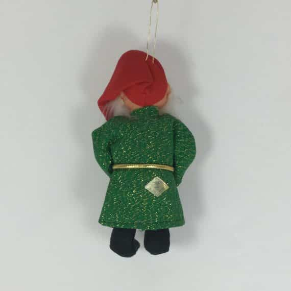 1960s-jestia-sleepy-dwarf-elf-in-green-gold-tunic-holiday-ornament-tkr-725