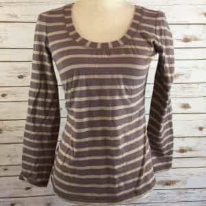 boden-striped-shirt-size-brown-tan-lightweight-long-sleeve