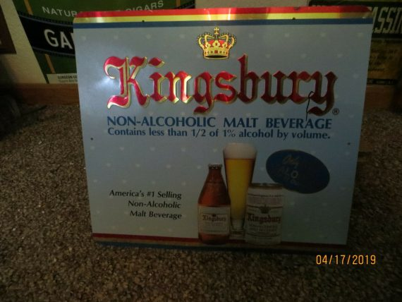 g-heileman-brewing-co-kingsbury-advertising-embossed-sign-flat-top-can-on-sign