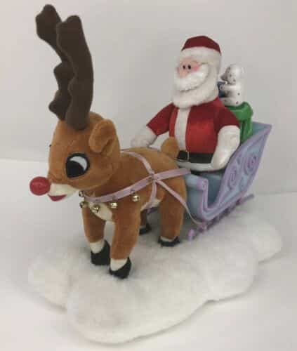 gemmy-rudolph-the-red-nosed-reindeer-with-santa-and-sleigh-works