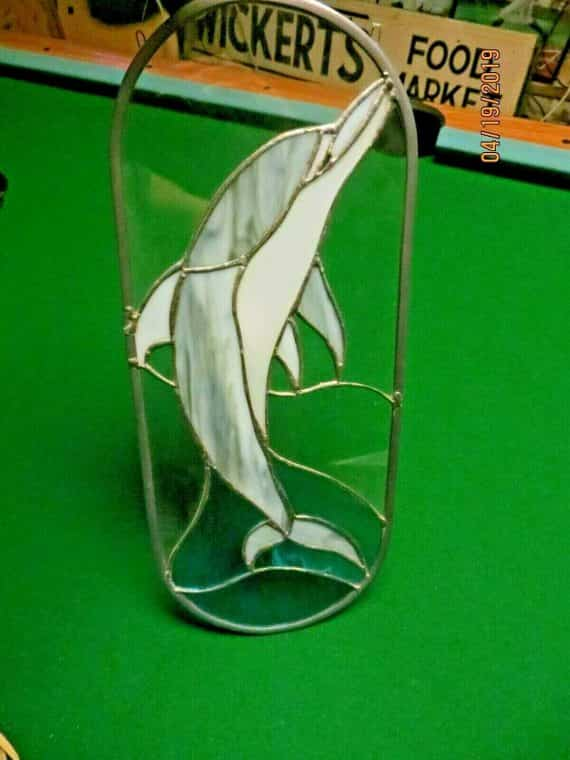 handcrafted-stained-glass-sun-catcher-jumping-dolphin-beautiful-glass-piece