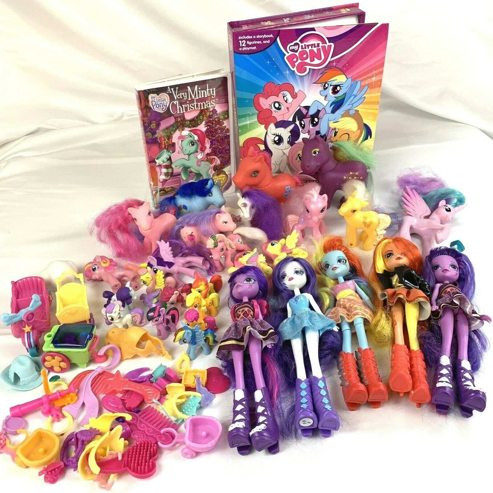 - Large Lot My Little Pony Equestria Girls Dolls 14 Ponies