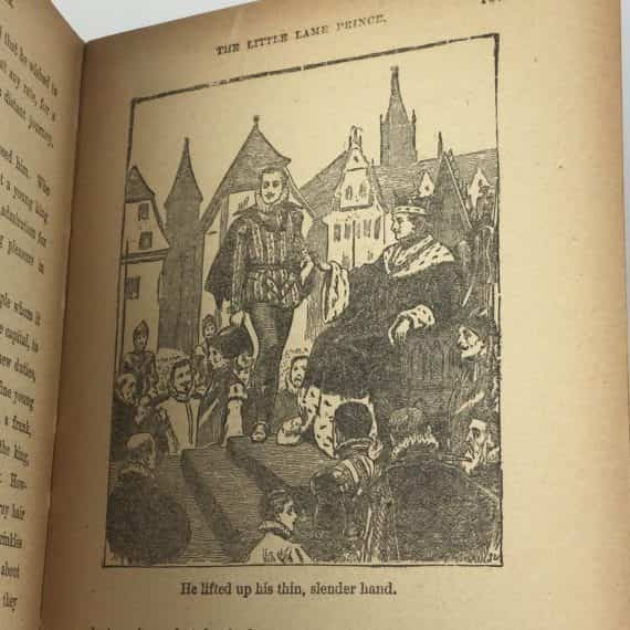 a-lame-little-prince-by-miss-mulock-antiquarian-hardcover-book-donohue-company