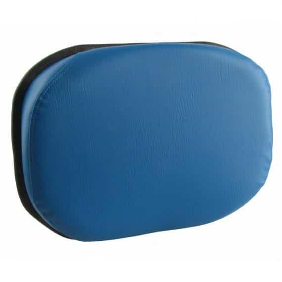 Back Cushion, Blue Vinyl Cushion