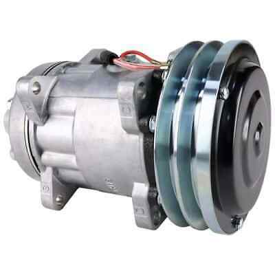 Case/Case IH CX90 Tractor Air Conditioning Compressor, w/ Clutch