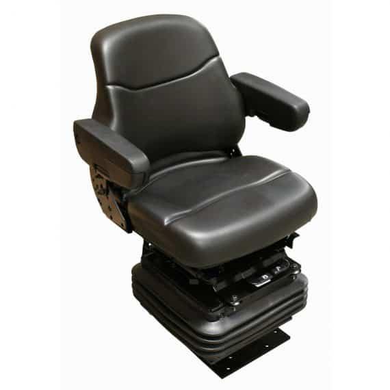 case-mid-back-seat-black-vinyl-mechanical-suspension-s-dozer-backhoe
