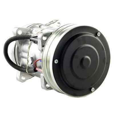 Ford/New Holland TJ275 Tractor Air Conditioning Compressor, w/ Clutch