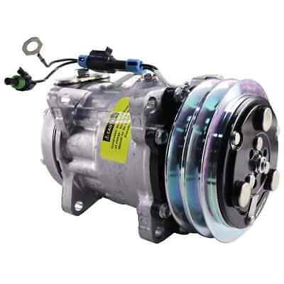 ford-new-holland-windrower-air-conditioning-compressor-w-clutch