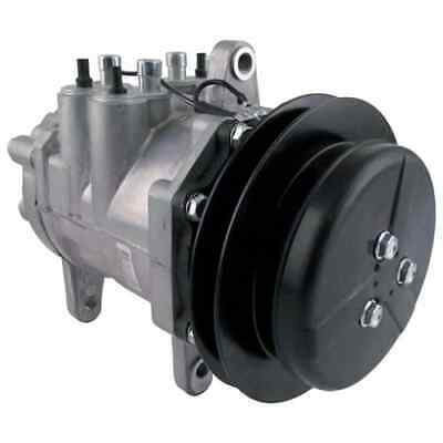 John Deere 410B Loader Backhoe Air Conditioning Compressor, w/ Clutch