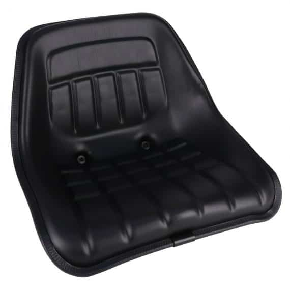 Minneapolis Moline Bucket Seat, Black Vinyl S830856 Tractor