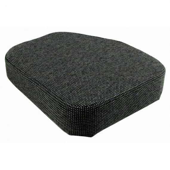 Seat Cushion for Side Kick Seat, Gray Fabric Cushion