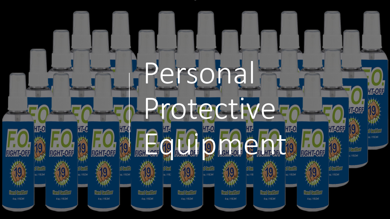 Personal Protective Equip/PPE