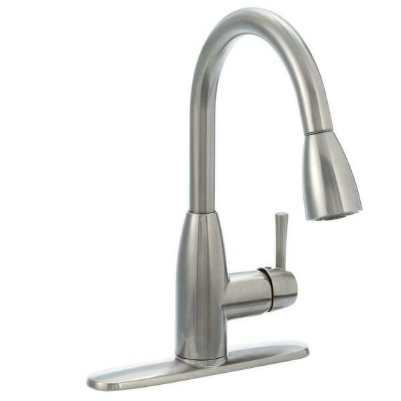 american-standard-fairbury-handle-pull-down-faucet-stainless-steel