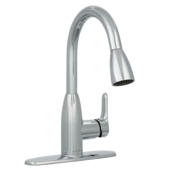 american-standard-pull-down-kitchen-faucet-handle-sprayer-polished-nickel