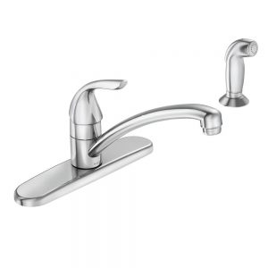moen-adler-single-handle-low-arc-standard-kitchen-faucet-with-side-sprayer-in-chrome