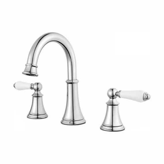 pfister-courant-lf-copc-in-widespread-handle-bathroom-faucet-in-polished-chrome-with-white-handles