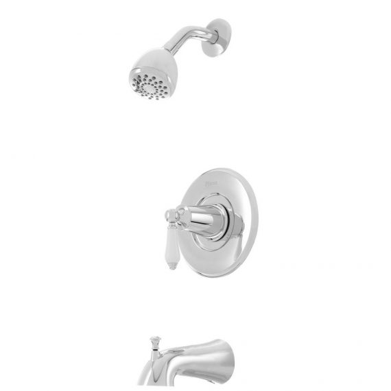 pfister-courant-p-ws-cospc-handle-spray-tub-and-shower-faucet-in-polished-chrome-with-white-ceramic-lever-handle-valve-included
