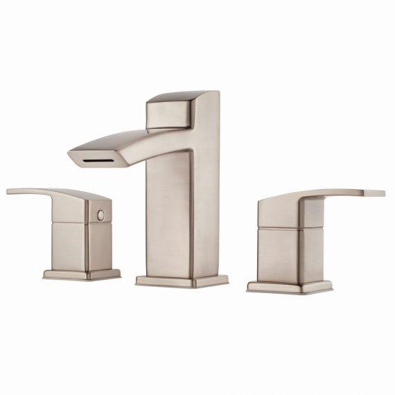 pfister-kenzo-lg-dfk-in-widespread-handle-bathroom-faucet-brushed-nickel