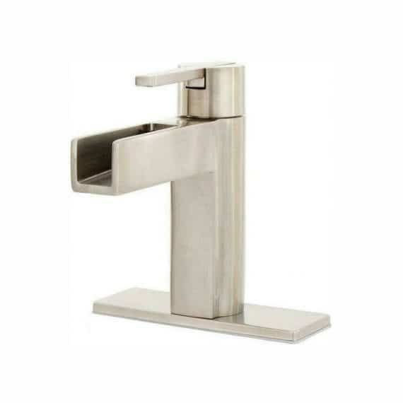 pfister-vega-lf-vgkk-single-hole-single-handle-bathroom-faucet-in-brushed-nickel