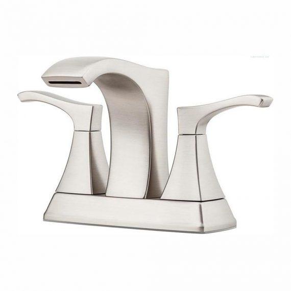pfister-venturi-lf-vngs-in-centerset-handle-bathroom-faucet-in-spot-defense-brushed-nickel