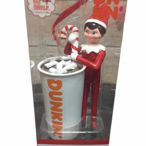 Dunkin Donuts Boy Elf Hot Chocolate Ornament