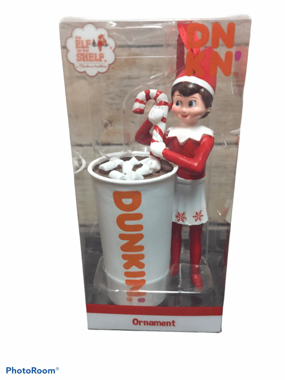 dunkin-donuts-girl-elf-with-hot-chocolate-ornament