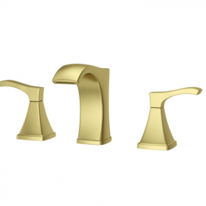 pfister-venturi-lf-vnbg-in-widespread-handle-bathroom-faucet-in-brushed-gold