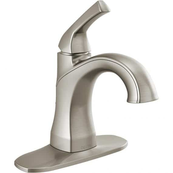 delta-portwood-lf-sp-single-hole-single-handle-bathroom-faucet-in-spotshield-brushed-nickel