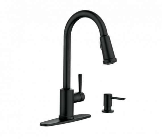 moen-indi-bl-single-handle-pull-down-sprayer-kitchen-faucet-with-reflex-and-power-clean-in-matte-black