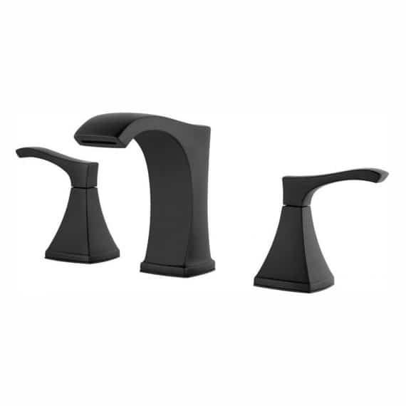 pfister-venturi-lf-vnbb-in-widespread-handle-bathroom-faucet-in-matte-black