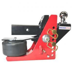 Shocker Air Receiver Hitch System - Raised Ball Mount
