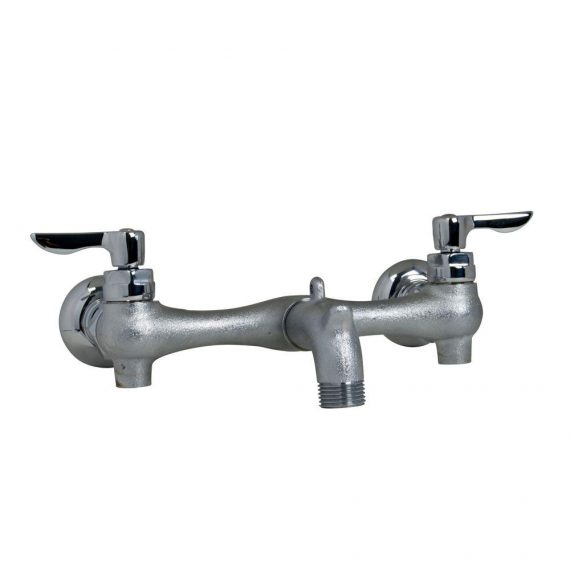 american-standard-exposed-yoke-wall-mount-handle-utility-faucet-in-rough-chrome