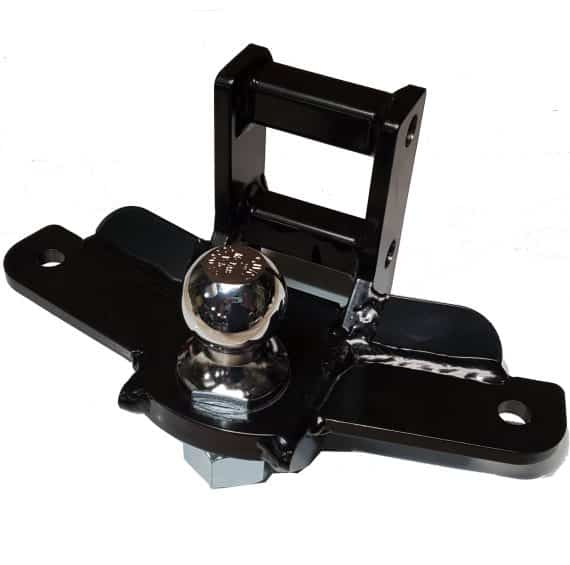 """Sway Control Drop Ball Mount w/2"""" Ball - 1-1/4"""" Hole (Drop Range 4-1/2"""" to 7-1/2"""") 10K Rating"""