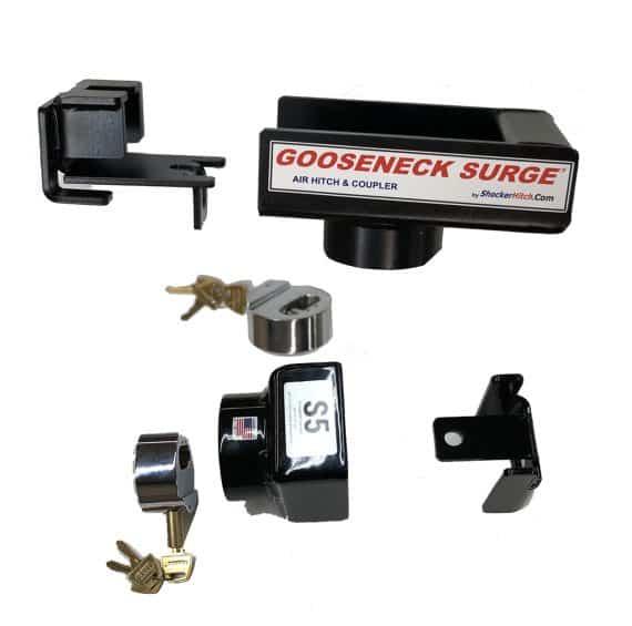 Shift Lock Gooseneck Coupler & Stem Set Lock Kit Package