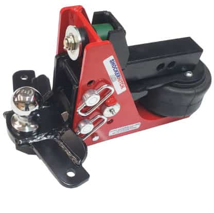 Shocker Air Receiver Hitch System - Sway Control Drop Ball Mount