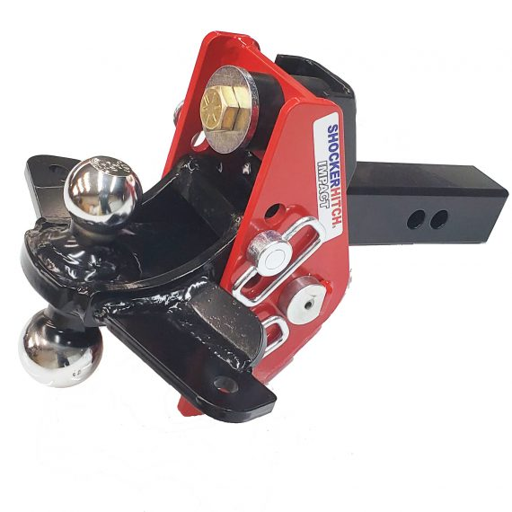 """Shocker Impact Cushion Sway Control Combo Ball Mount with 2"""" & 2-5/16"""" Hitch Balls"""